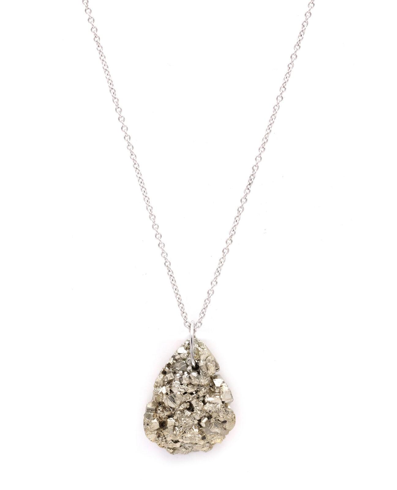 Pyrite White Gold 1